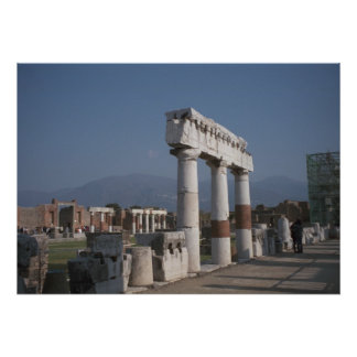 Pompeii, In the Forum Poster