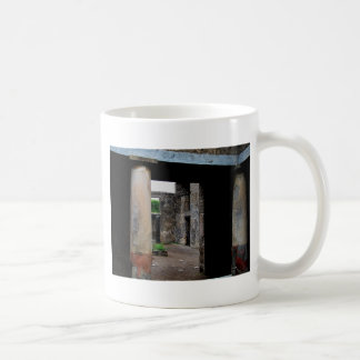 Pompeii - Interior court or peristyle of house Coffee Mugs