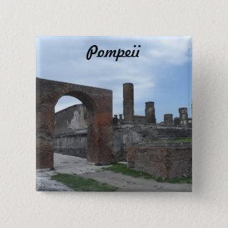 Pompeii, Italy Button