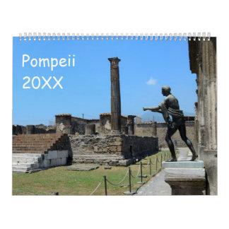 Pompeii, Italy Calendar