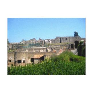 Pompeii Italy Pompei Canvas Print