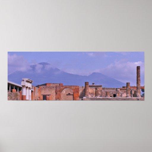 Pompeii, Italy Poster