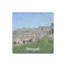 Pompeii Italy Stone Magnet at Zazzle
