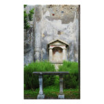 Pompeii, Italy - TEMPLE IN A GARDEN Print