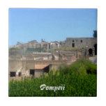Pompeii Italy Tile