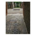 Pompeii Mosaic Floor Postcard