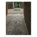 Pompeii Mosaic Floor Postcards