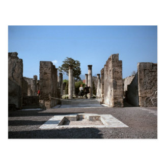 Pompeii, Patrician's villa Postcard