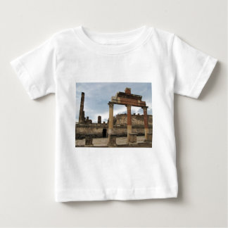 Pompeii - Remaining columns of the Arcade Baby T-Shirt