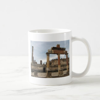 Pompeii - Remaining columns of the Arcade Coffee Mug