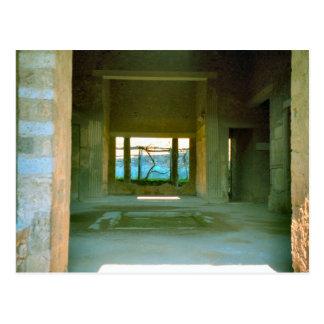 Pompeii, Restoration of Roman house Postcard