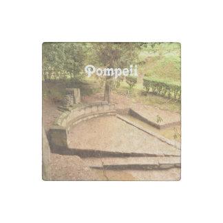 Pompeii Stone Magnet
