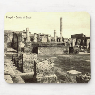 Pompeii, Temple of Jupiter Mouse Pad