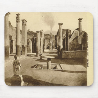 Pompeii, Villa with a statue Mouse Pad