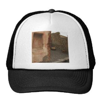 Pompeii - Wall lararium - Painting in  Niche Trucker Hat