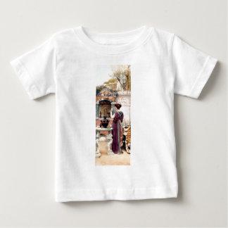 Pompeii Woman Godward garden Baby T-Shirt