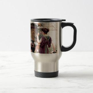 Pompeii Woman Godward garden Coffee Mug