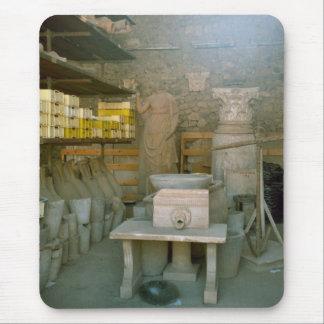 Pompeya, almacenamiento para los artefactos alfombrilla de ratón
