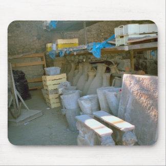 Pompeya, almacenamiento para los hallazgos tapete de ratones
