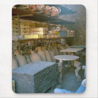 Pompeya, artefactos en tienda alfombrilla de ratón