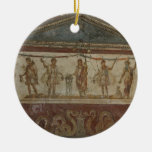 Pompeya atesora el ornamento de encargo adorno navideño redondo de cerámica