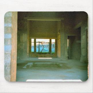 Pompeya, casa bajo restauración tapete de ratones