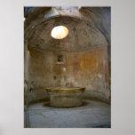 Pompeya, casa romana del baño impresiones