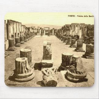 Pompeya, columnas de la basílica alfombrillas de ratón