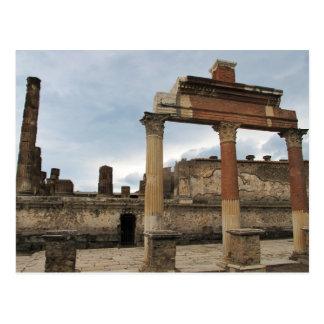 Pompeya - columnas restantes de la arcada postales