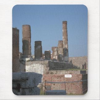Pompeya, columnas alfombrilla de ratón