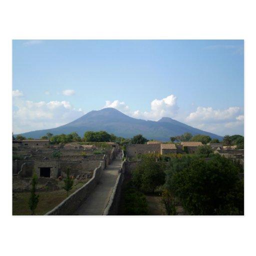 Pompeya después del volcán postales