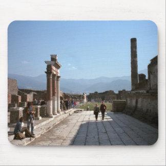 Pompeya, en el foro tapete de ratones
