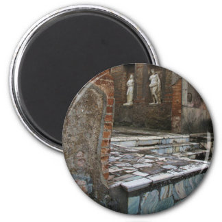 Pompeya - foro imán redondo 5 cm