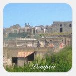Pompeya Italia Colcomanias Cuadradas