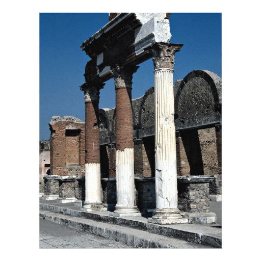 Pompeya, Italia Tarjetón