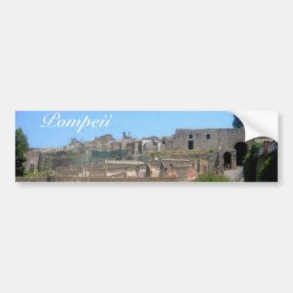 Pompeya Italia Pegatina Para Auto