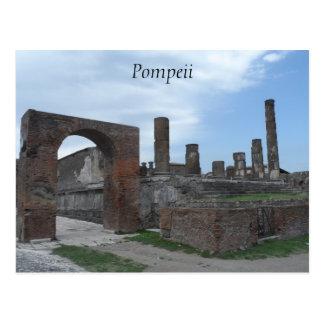 Pompeya, Italia Tarjeta Postal