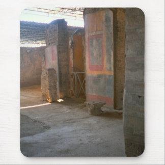 Pompeya, pinturas de pared alfombrilla de ratón
