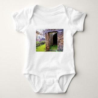 Pompeya - puerta de entrada a ruinas de una casa poleras