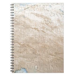 Pompeya que escribe 2 libreta