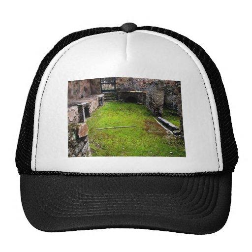 Pompeya - ruinas de una casa gorras de camionero