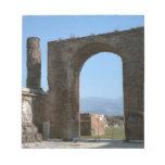 Pompeya, sitio arqueológico libretas para notas