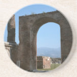 Pompeya, sitio arqueológico posavasos diseño