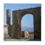 Pompeya, sitio arqueológico teja cerámica