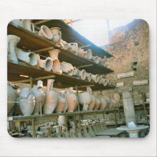 Pompeya, sitio de tienda para la cerámica alfombrillas de ratón