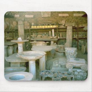Pompeya, sitio de tienda para los artefactos tapete de raton
