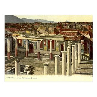 Pompeya, vista general de la ciudad tarjetas postales