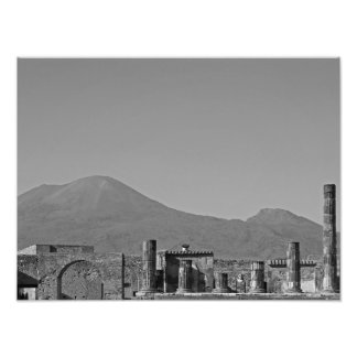 Pompeya y el monte Vesubio Cojinete