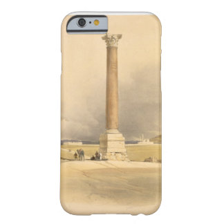 """Pompey's Pillar, Alexandria, from """"Egypt and Nubia Barely There iPhone 6 Case"""