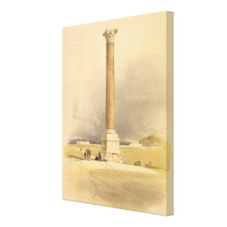"""Pompey's Pillar, Alexandria, from """"Egypt and Nubia Canvas Prints"""